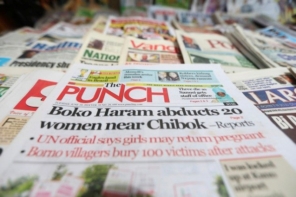 Nigerian Newspapers: Top 10 Headlines Today Thursday, April 25th, 2019