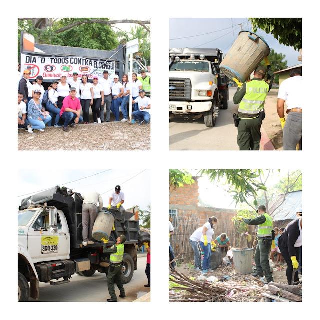 ! Todos contra el Dengue ¡ en Chiriguaná
