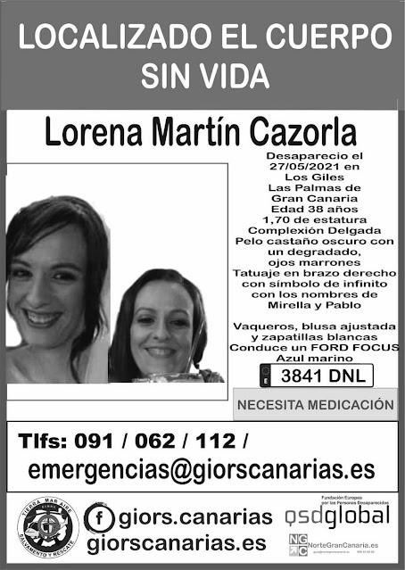 encuentran muerta a lorena mujer desaparecida los giles las palmas de gran canaria