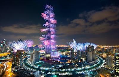 احتفالات دبي بالعام الجديد 2017