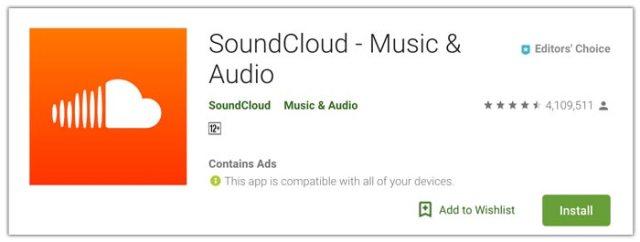 SoundCloud - Musik dan Audio