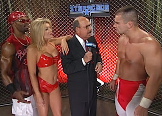 WCW Starrcade 2000 - Mean Gene Okerlund interviews Team Canada