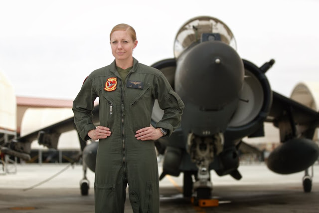 Casey female Harrier pilot Marines