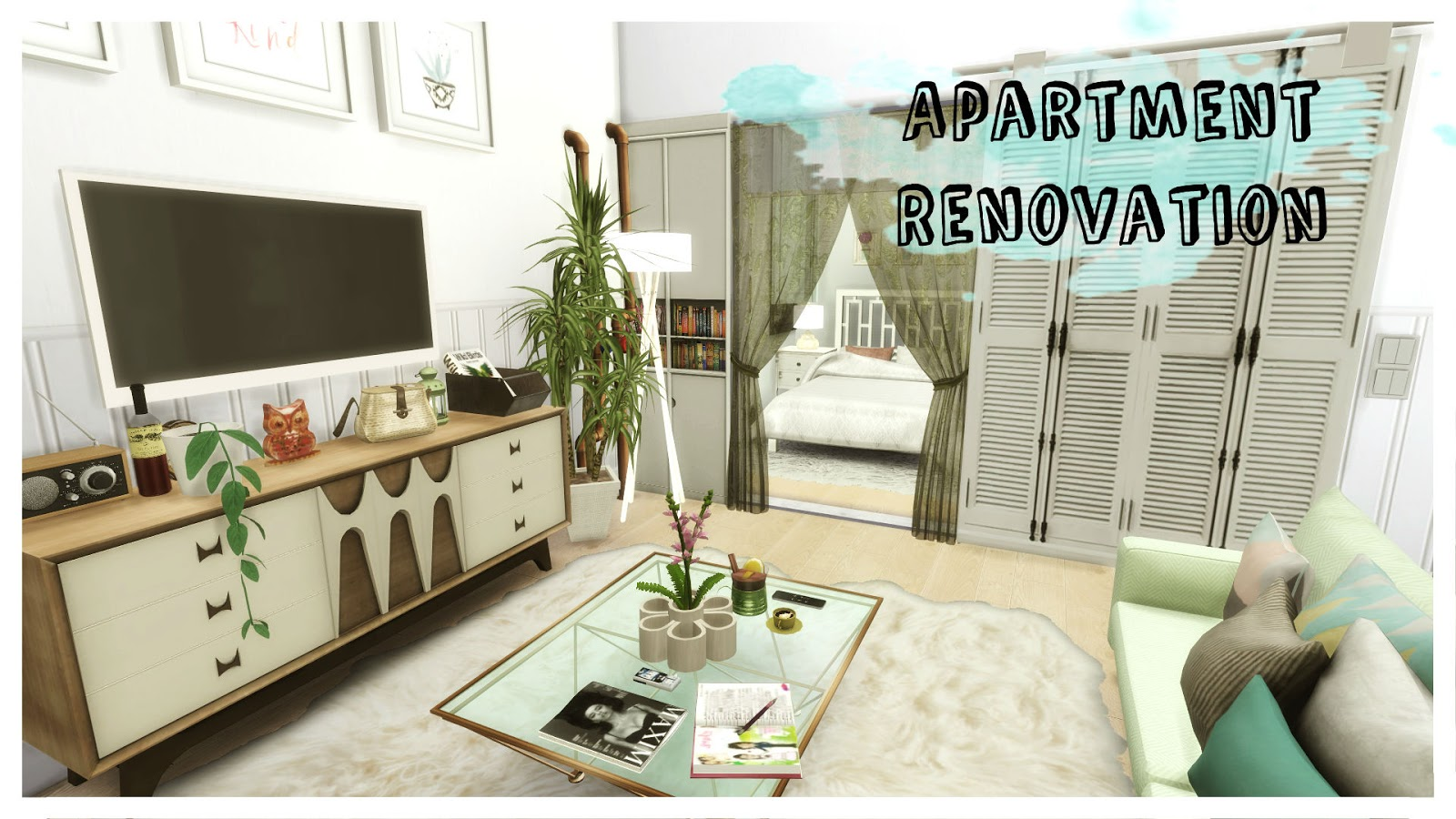 Sims 4 apartment renovation ii art district house mods for download dinha - Apartment renovation ideas ...