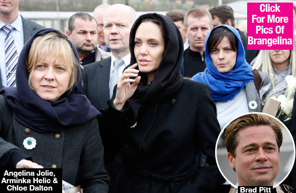 Angelina Jolie's New BFFs: Were They Leading A Negative Campaign Against Brad Pitt?