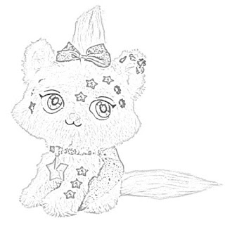 Shimmer Stars Plush Pets coloring pages free and downloadable coloring.filminspector.com