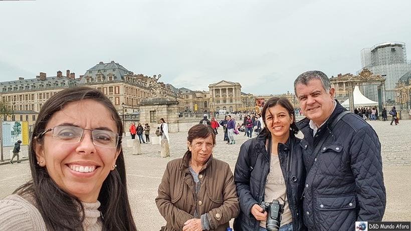 Château de Versailles - Transfer em Paris em português - Telma France Tour