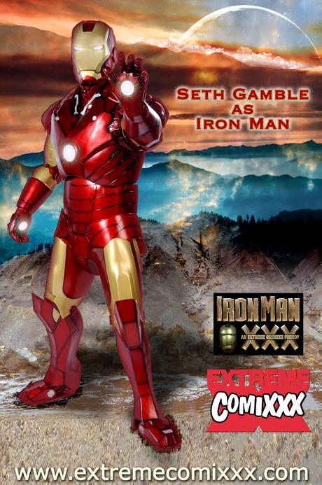 Trailer Y Fotos De La Parodia Porno Iron Man Xxx - De Fan -5734