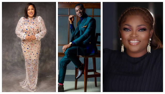 They helped me to become something in life- Lateef Adedimeji pens down appreciation note to Toyin Abraham, Funke Akindele and others