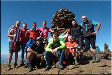 Tuc de Maubèrme mendiaren gailurra 2.881 m. --  2016ko irailaren 24an