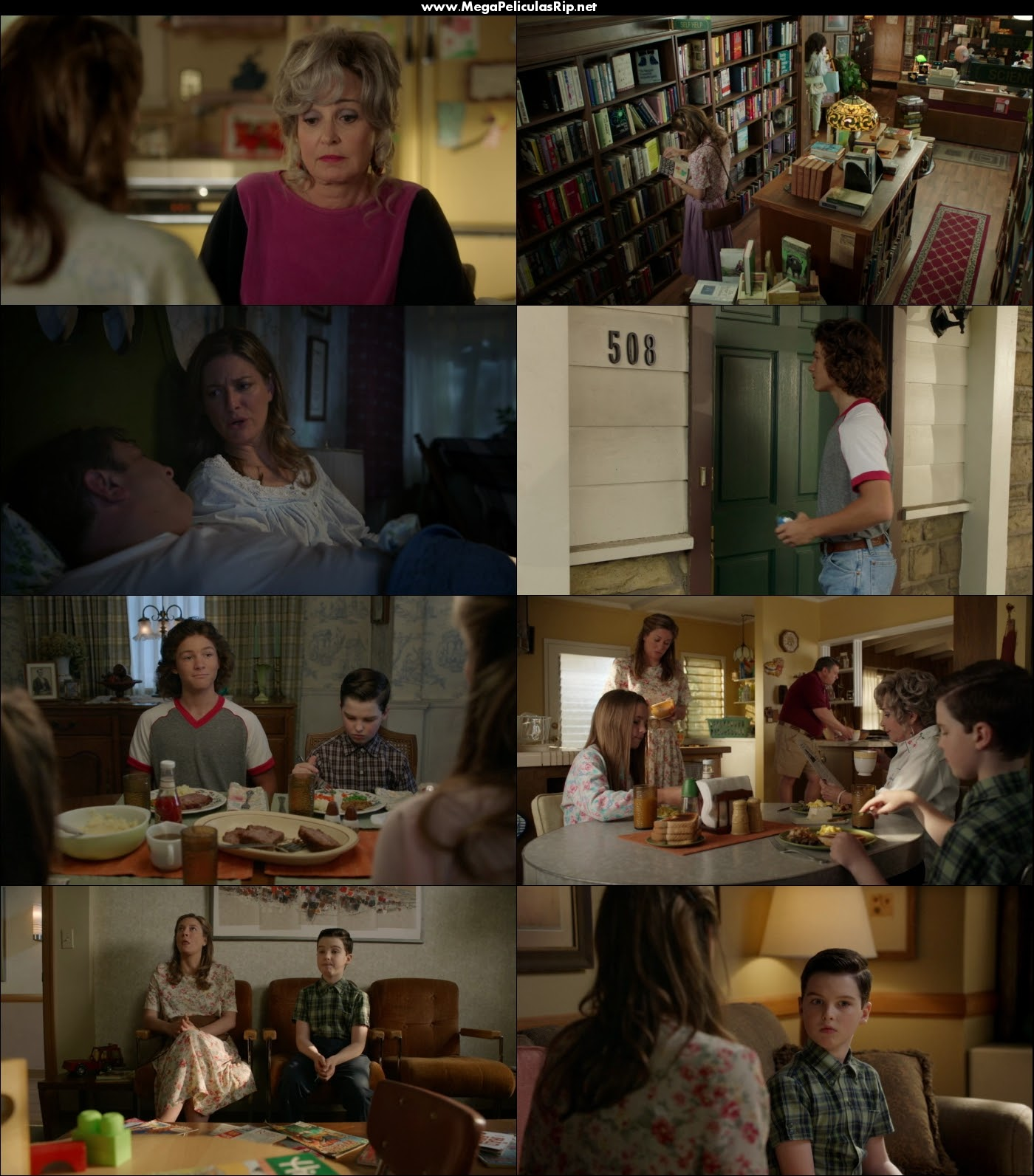Young Sheldon Temporada 3 720p Latino