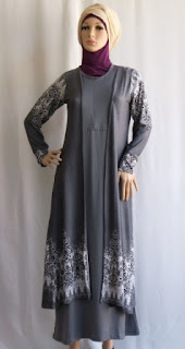 Gamis Muslim Modern GKM4695