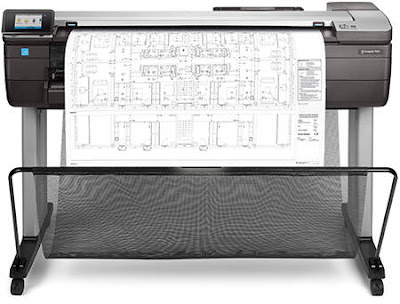 HP DesignJet T830 Manual