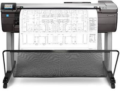 HP DesignJet T830 Manual