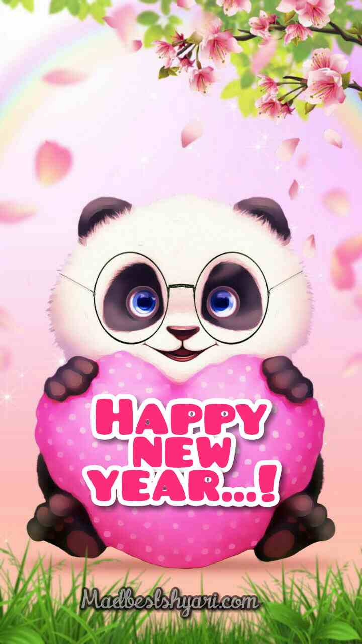 Happy New Year 2020 With Panda Images