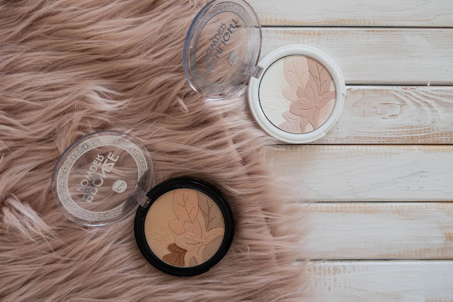 Bronzer Powder & Highlighter Powder