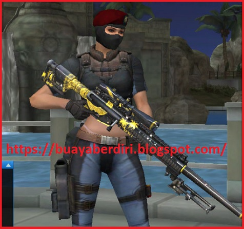 Senjata Tactilite T2 Arabian Night Pointblank Zepetto