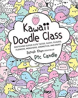 Compas Magazine Kawaii Doodle Class Sketching Super Cute Tacos