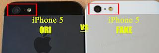 Perhatikan Kamera Bagian Belakang iPhone 5