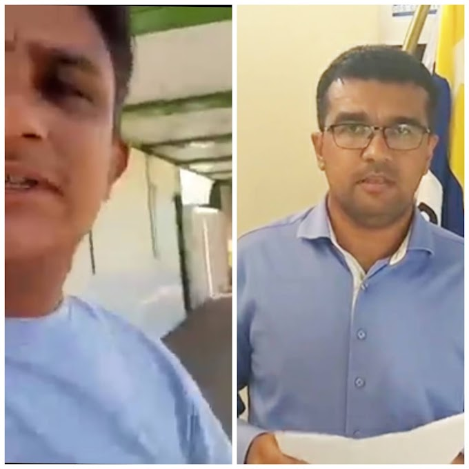 """""""ME PAGUE"""" - Chefe de Comunicação da Prefeitura de São Pedro dos Crentes: """"Não estou trabalhando para você na juquira prefeito vagabundo"""""""