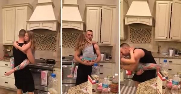 Dikira Memasak Ibu Ini Kaget Suaminya Lakukan Hal Dengan Putrinya Di Dapur