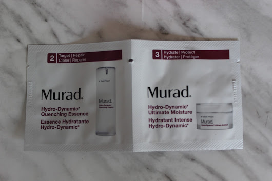 Sample Sunday: Murad Hydro-Dynamic Quenching Essence & Ultimate Moisture