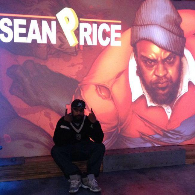 Celeb Sneaker Game  Sean Price Rocking Air Jordan 11
