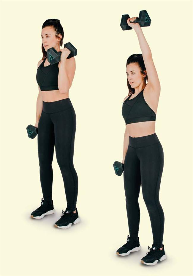 ONE-SIDED SHOULDER LIFTS