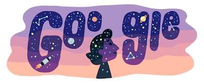 Google Doodle for astrophysicist Eryurt
