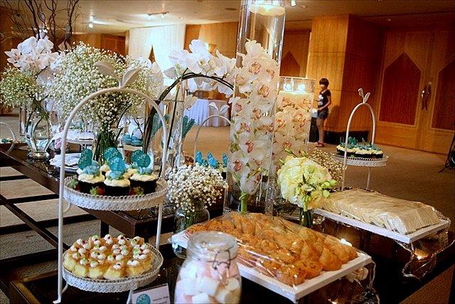 hotel tea wedding