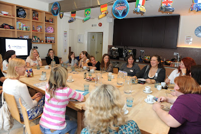 Pippa making everyone laugh at the Ultimate Packed Lunch Roundtable