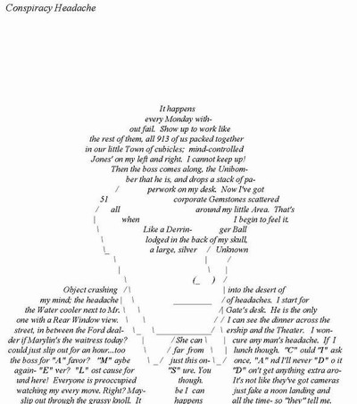 directions for writing a shape poem