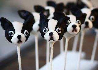 Northeast Boston Terrier Rescue  Boston Terrier Cake Pops and Cupcakes 5117e21ee3e1