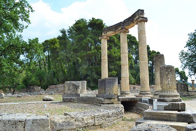 Il sito archeologico di Olimpia