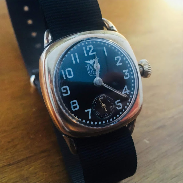 "Elgin Black Star Dial ""Kitchener"""