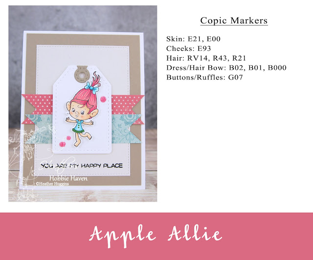 Heather's Hobbie Haven - You are My Happy Place Card