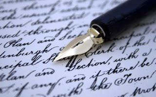 tulisan-tangan