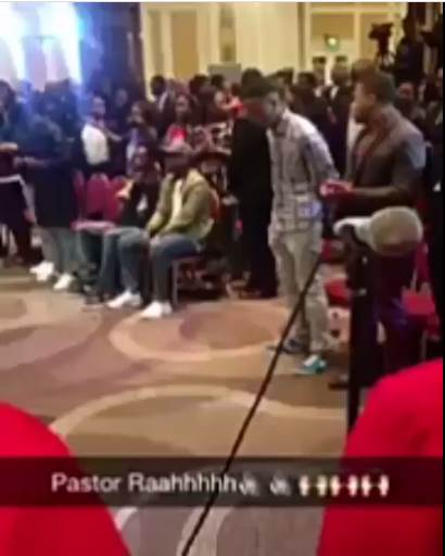 Everyone is talking about this Pastor for his Grand Entrance at Church Service on a Hoverboard
