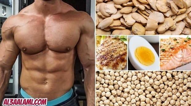 أفضل مصادر البروتين لكمال الأجسام