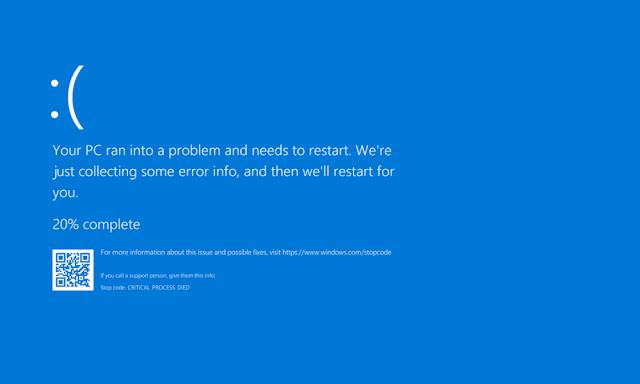 Tutorial Mengatasi Layar Laptop Yang Mengalami Blue Screen
