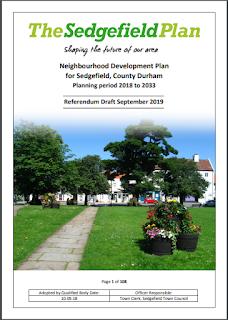 Cover image of Sedgefield Neighbourhood Plan