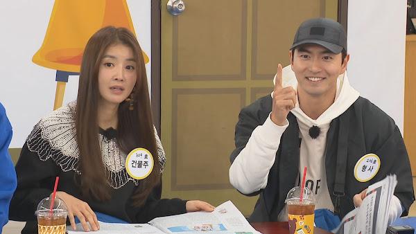 (左起)李施昤、李陣郁 上RM宣傳戲劇〈Sweet Home〉