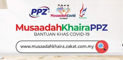 Semakan Status Bantuan Musaadah Khaira PPZ Online (Tarikh)