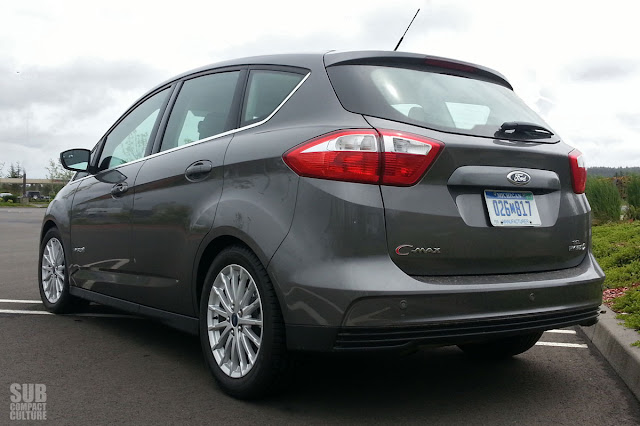 2013 Ford C-Max Hybrid rear shot