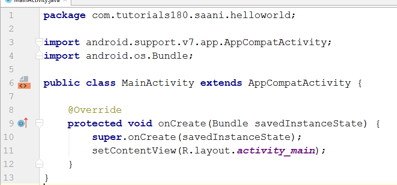 Tutorials180: Hello World in Android Studio Explained Part 3