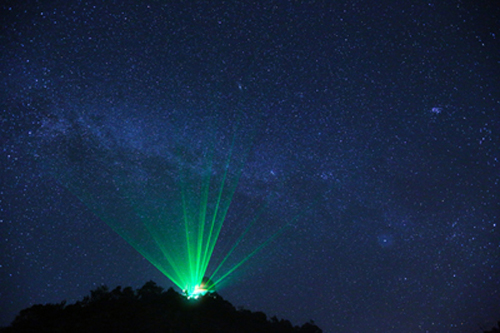 Safe Use of Lasers Outdoors