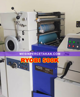 Mesin Cetak Ryobi 500K