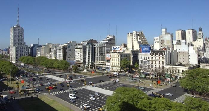 Buenos Aires Julio Large Argentine Route Plus La De La 9 Monde Du