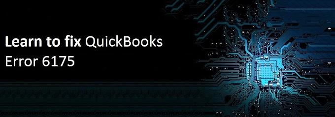 How to fix QuickBooks Error 6175