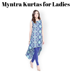 Myntra Kurtas for Ladies
